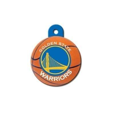 Hillman Group Dog-products NBA Golden State Warriors Circle Id Tag