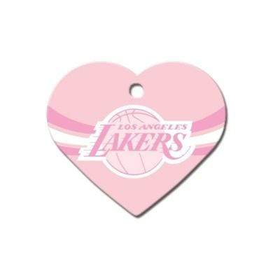 Hillman Group Dog-products NBA Los Angeles Lakers Heart Id Tag