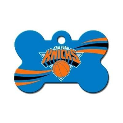 Hillman Group Dog-products NBA New York Knicks Bone Id Tag