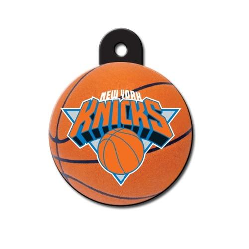 Hillman Group Dog-products NBA New York Knicks Circle Id Tag