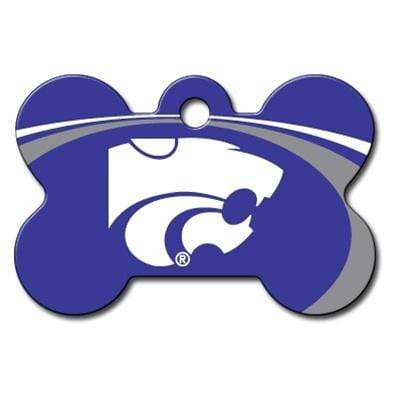 Hillman Group Dog-products NCAA Kansas State Wildcats Bone Id Tag