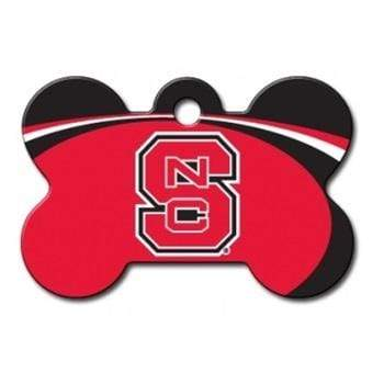 Hillman Group Dog-products NCAA Nc State Wolfpack Bone Id Tag