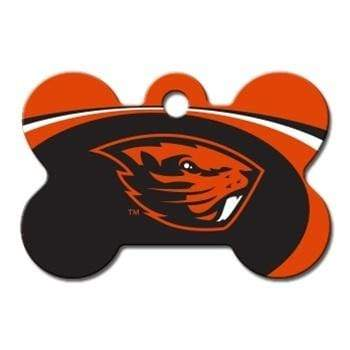 Hillman Group Dog-products NCAA Oregon State Beavers Bone Id Tag