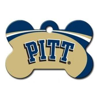 Hillman Group Dog-products NCAA Pittsburgh Panthers Bone Id Tag