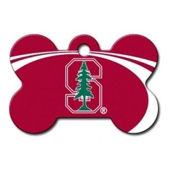 Hillman Group Dog-products NCAA Stanford Cardinal Bone Id Tag