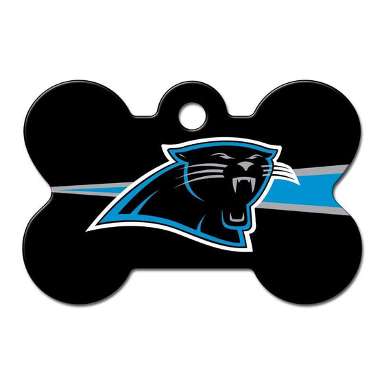 Hillman Group Dog-products NFL Carolina Panthers Bone Id Tag