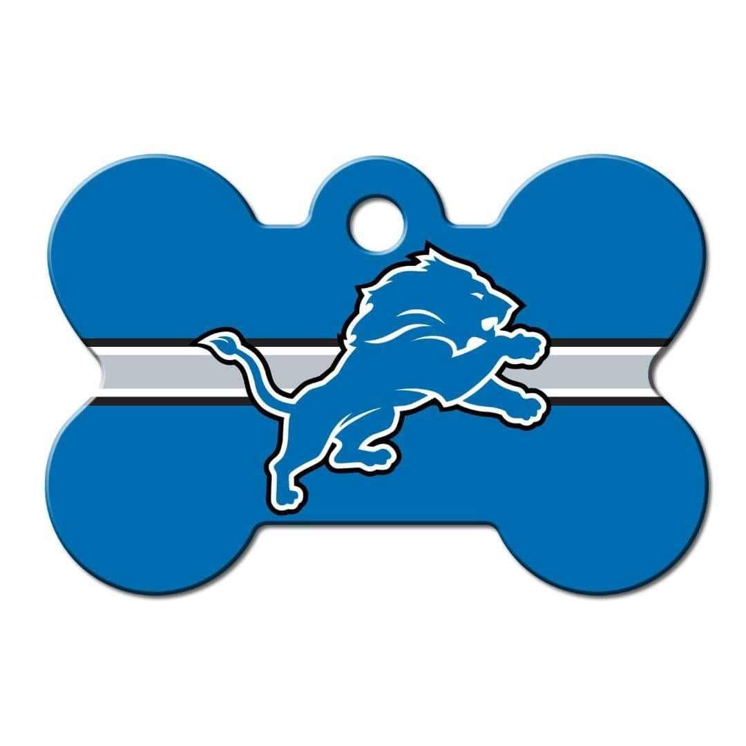 Hillman Group Dog-products NFL Detroit Lions Bone Id Tag