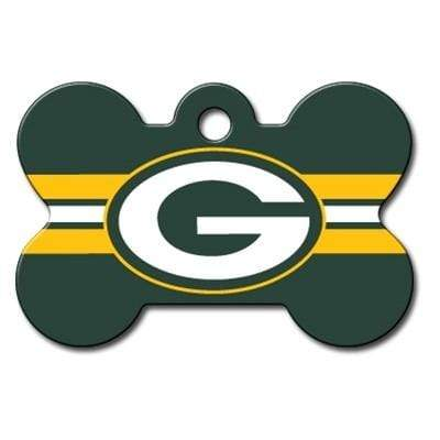 Hillman Group Dog-products NFL Green Bay Packers Bone Id Tag