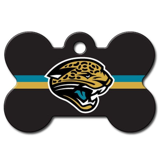 Hillman Group Dog-products NFL Jacksonville Jaguars Bone Id Tag