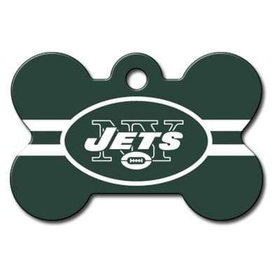 Hillman Group Dog-products NFL New York Jets Bone Id Tag