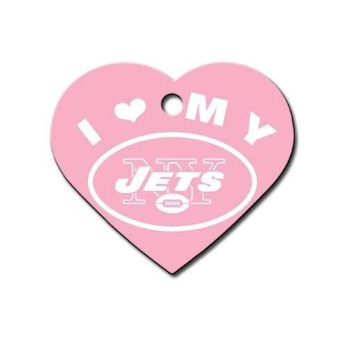 Hillman Group Dog-products NFL New York Jets Heart Id Tag