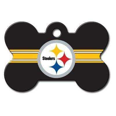 Hillman Group Dog-products NFL Pittsburgh Steelers Bone Id Tag