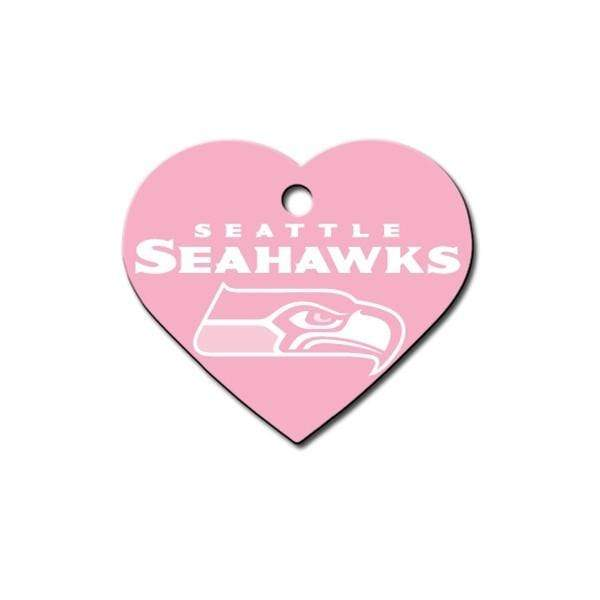 Hillman Group Dog-products NFL Seattle Seahawks Heart Id Tag