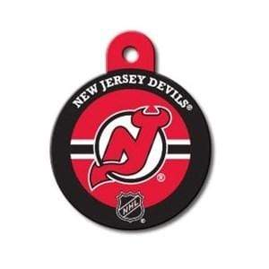 Hillman Group Dog-products NHL New Jersey Devils Large Circle Id Tag