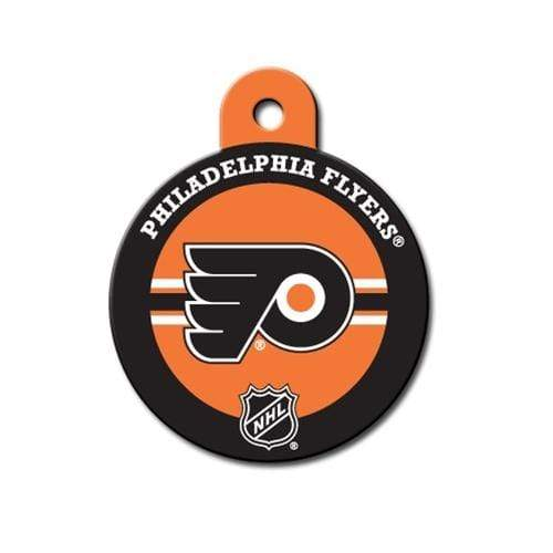 Hillman Group Dog-products NHL Philadelphia Flyers Circle Id Tag