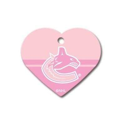 Hillman Group Dog-products NHL Vancouver Canucks Heart Id Tag