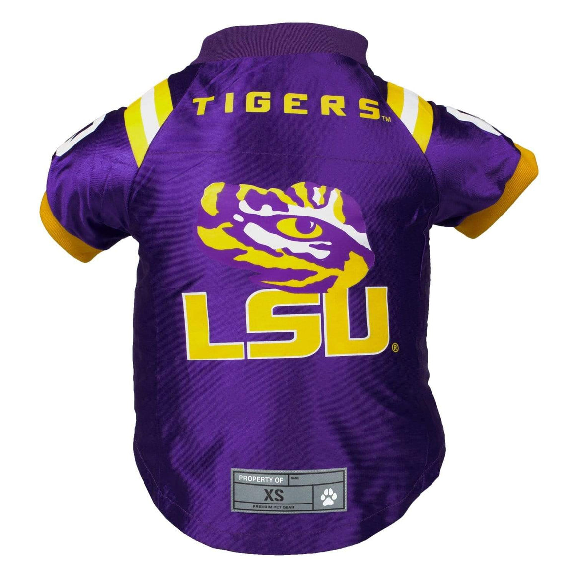 Little Earth Productions Dog-products NCAA Big Dog Lsu Tigers Pet Premium Jersey