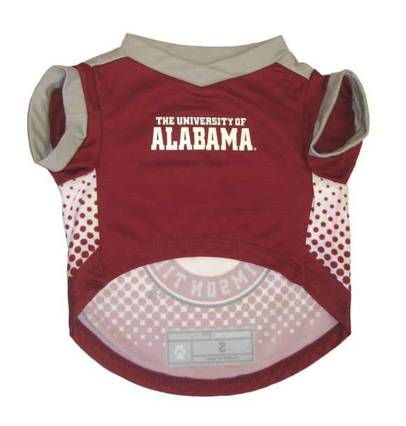Little Earth Productions Dog-products NCAA XS Alabama Crimson Tide Pet Performance Tee