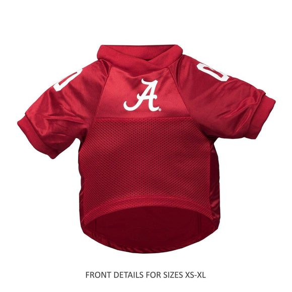 Little Earth Productions Dog-products NCAA XS Alabama Crimson Tide Pet Premium Jersey