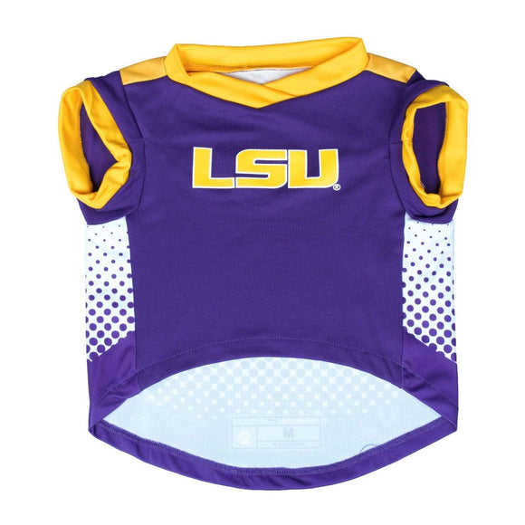 Little Earth Productions Dog-products NCAA XL Lsu Tigers Pet Performance Tee