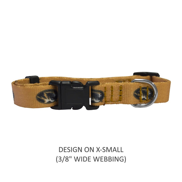 Little Earth Productions Dog-products NCAA Large Missouri Tigers Pet Nylon Collar