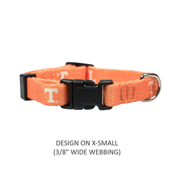 Little Earth Productions Dog-products NCAA Large Tennessee Volunteers Pet Nylon Collar