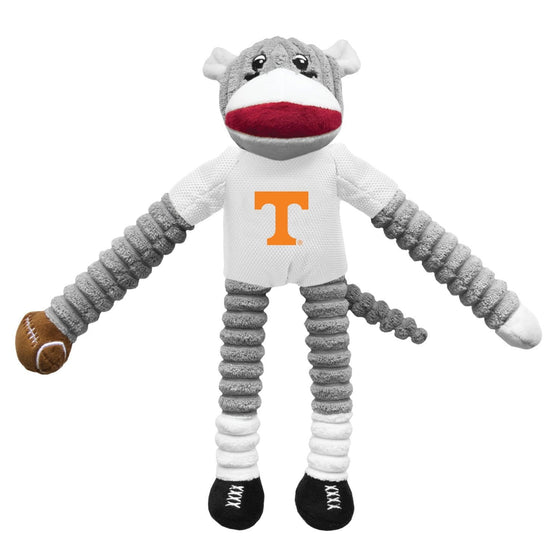 Little Earth Productions Dog-products NCAA Tennessee Volunteers Sock Monkey Pet Toy