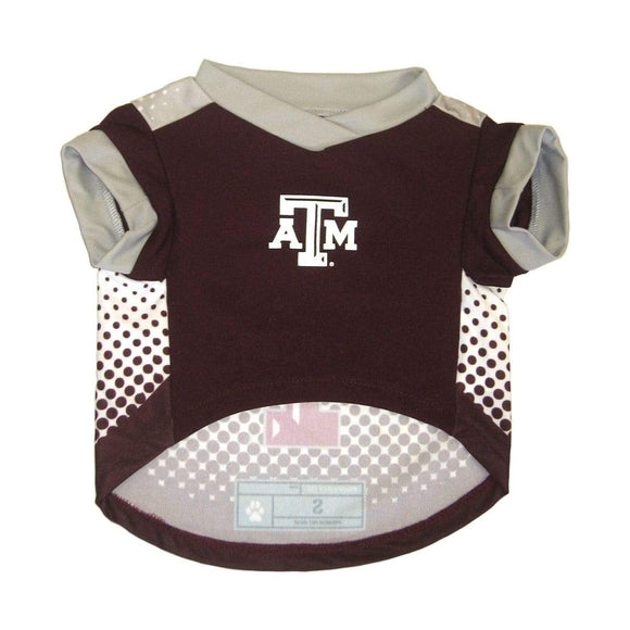 Little Earth Productions Dog-products NCAA Large Texas A&m Aggies Pet Performance Tee