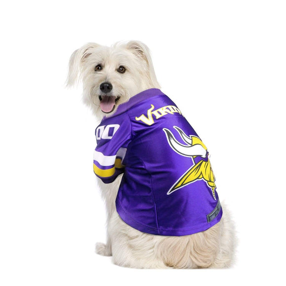 Little Earth Productions Dog-products NFL XS Minnesota Vikings Pet Premium Jersey