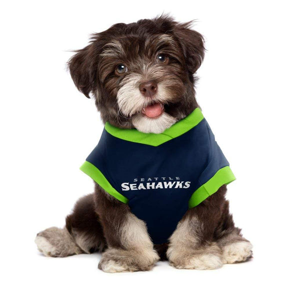 Little Earth Productions Dog-products NFL XS Seattle Seahawks Pet Performance Tee