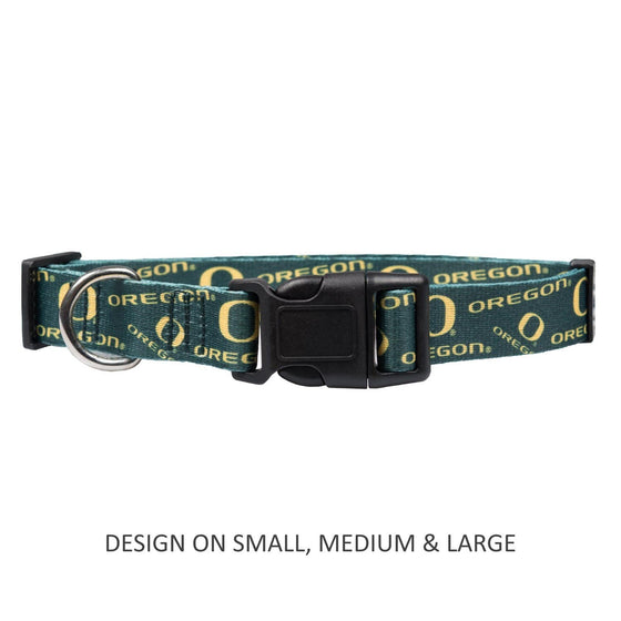 Little Earth Productions Dog-products NCAA Large Oregon Ducks Pet Nylon Collar