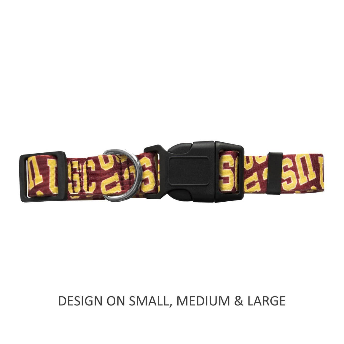 Little Earth Productions Dog-products NCAA Large Usc Trojans Pet Nylon Collar