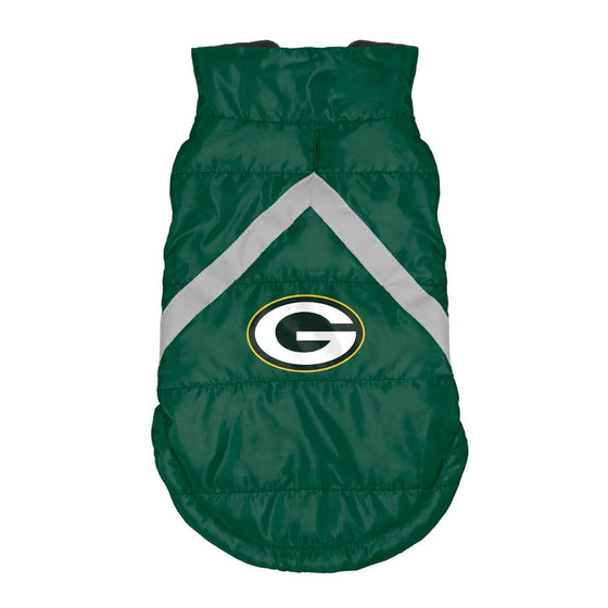 Little Earth Productions Dog-products NFL Large Green Bay Packers Pet Puffer Vest