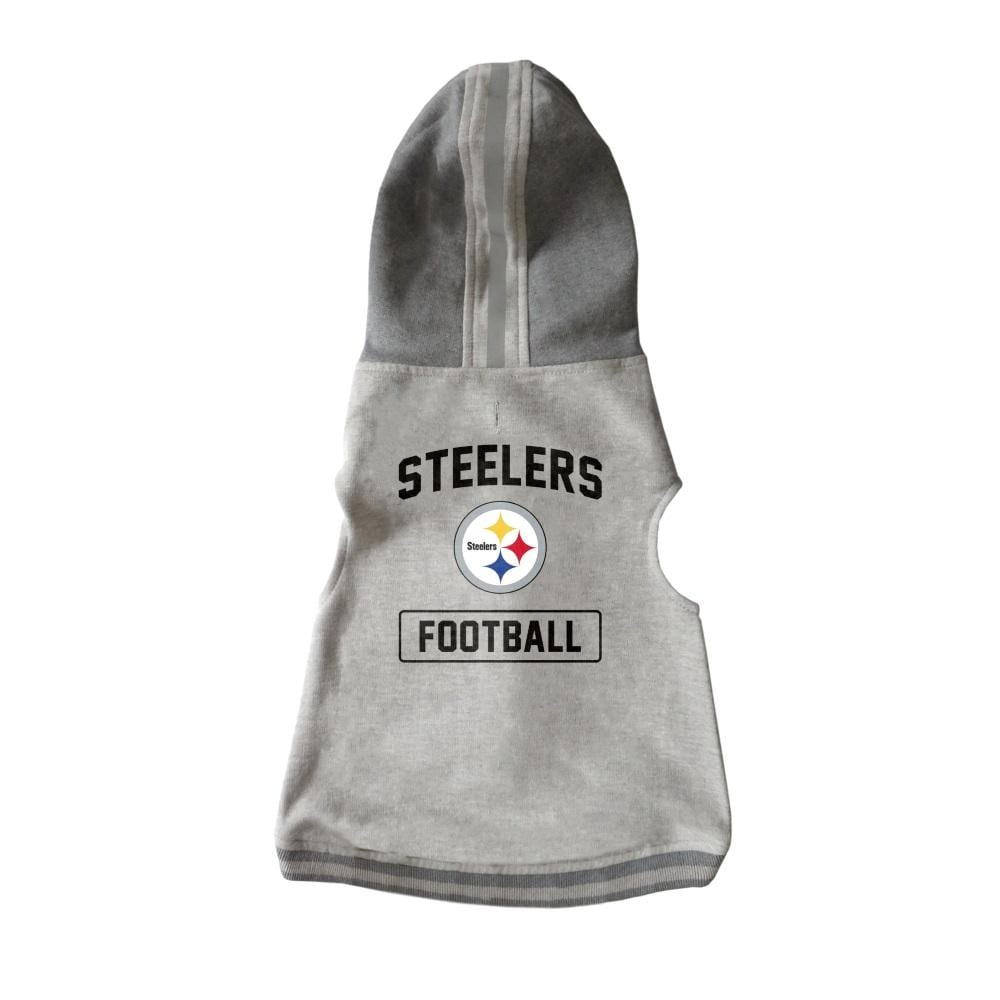 Little Earth Productions Dog-products NFL Large Pittsburgh Steelers Pet Crewneck Hoodie