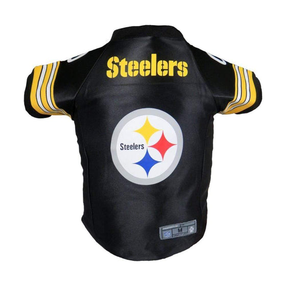 Little Earth Productions Dog-products NFL Large Pittsburgh Steelers Pet Premium Jersey