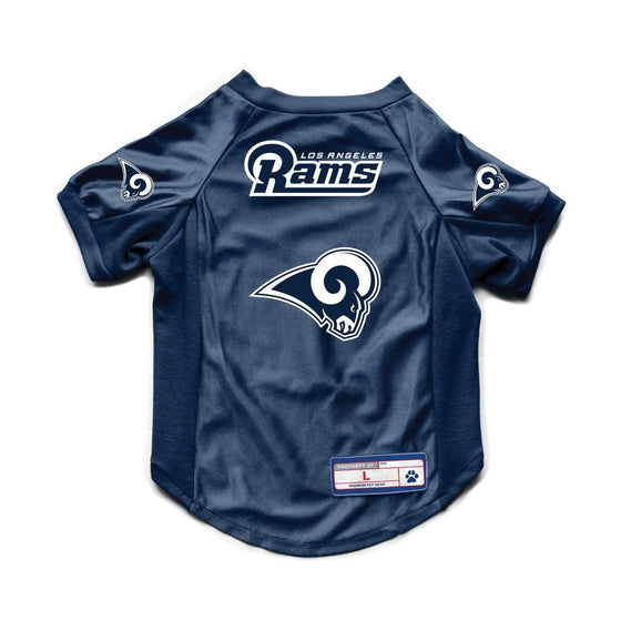 Little Earth Productions Dog-products NFL Medium Los Angeles Rams Pet Stretch Jersey