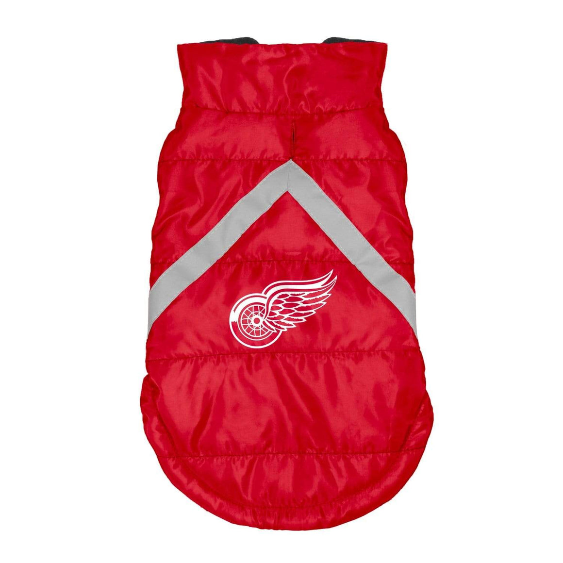 Little Earth Productions Dog-products NHL Medium Detroit Red Wings Pet Puffer Vest