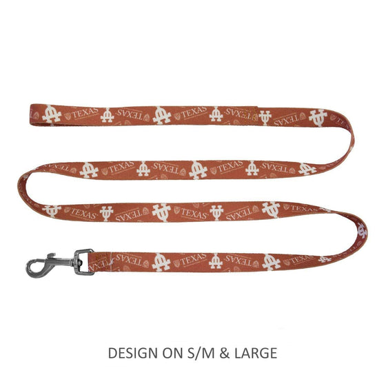 Little Earth Productions Dog-products NCAA S/M Texas Longhorns Pet Nylon Leash