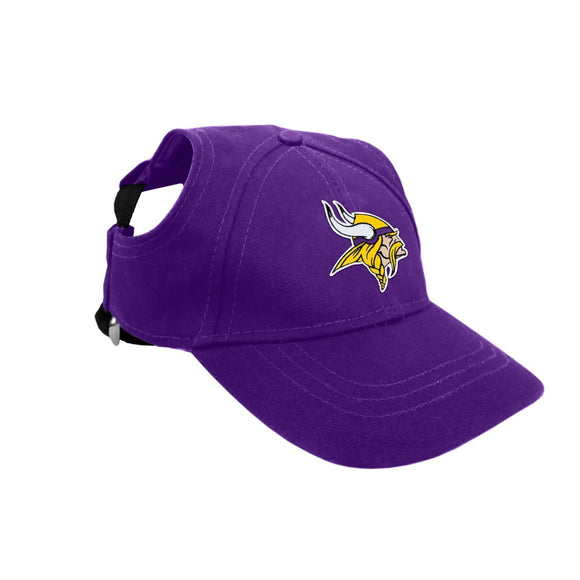 Little Earth Productions Dog-products NFL Small Minnesota Vikings Pet Baseball Hat