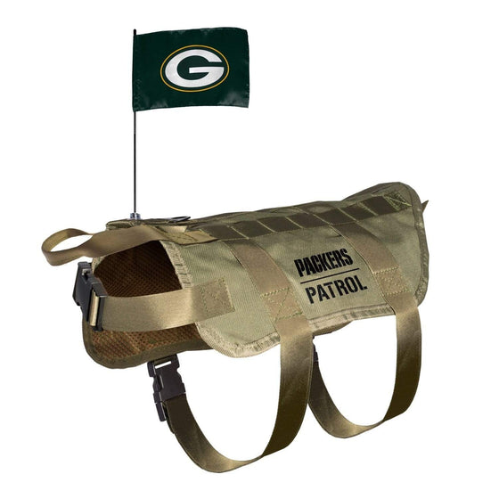 Little Earth Productions Dog-products NFL XL/BIG Green Bay Packers Pet Tactical Vest
