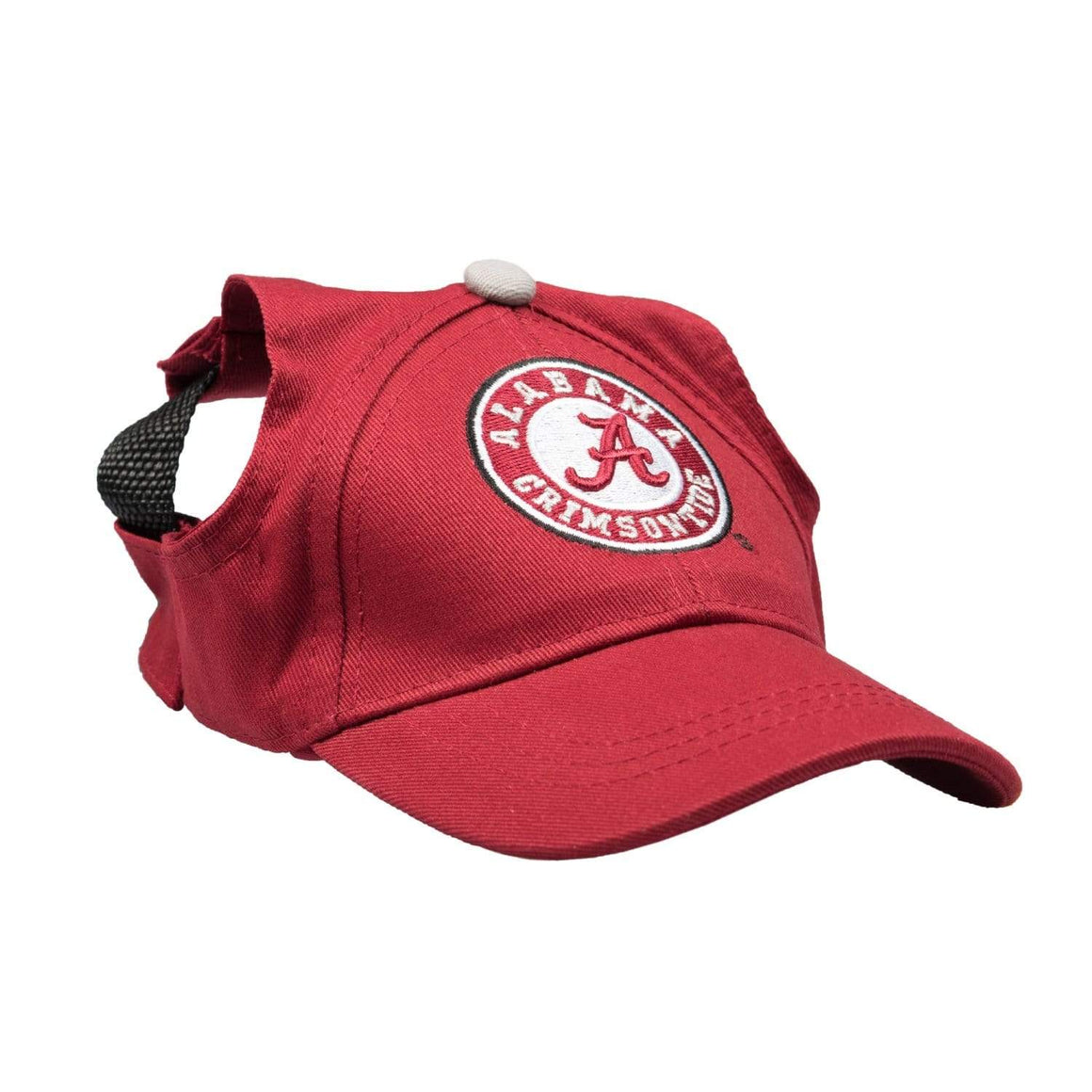 Little Earth Productions Dog-products NCAA XL Alabama Crimson Tide Pet Baseball Hat