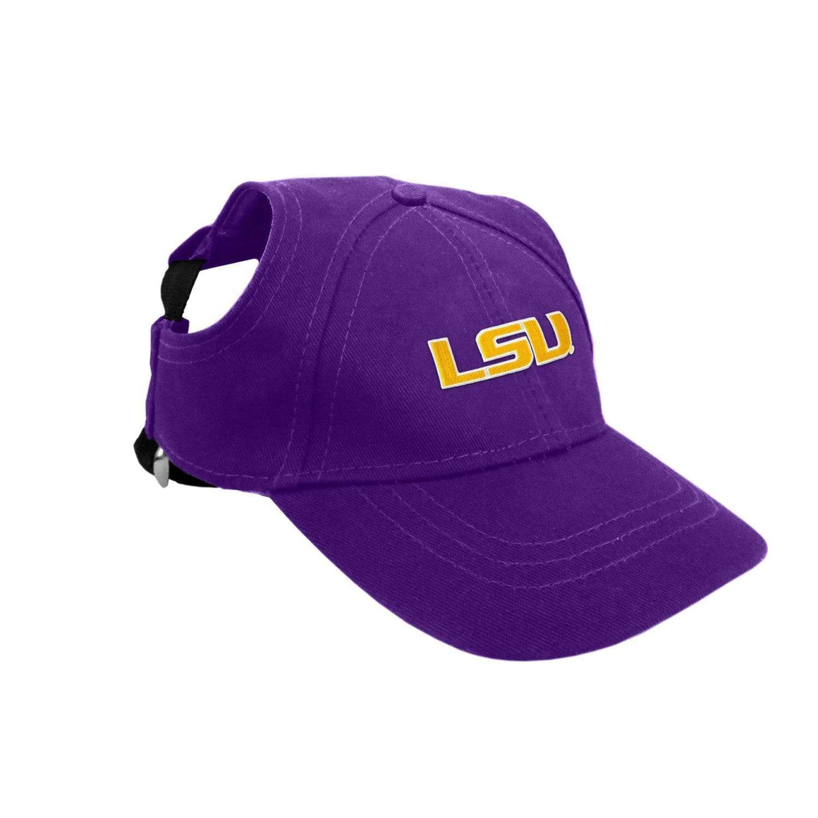 Little Earth Productions Dog-products NCAA XL Lsu Tigers Pet Baseball Hat