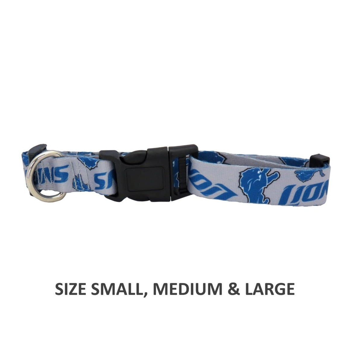 Little Earth Productions Dog-products NFL XS Detroit Lions Pet Nylon Collar