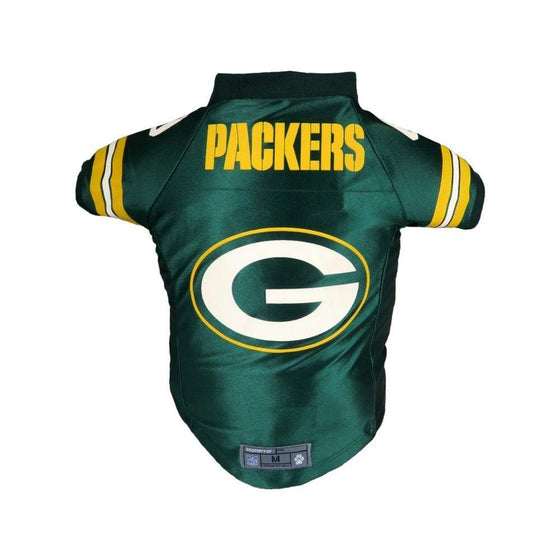 Little Earth Productions Dog-products NFL XS Green Bay Packers Pet Premium Jersey