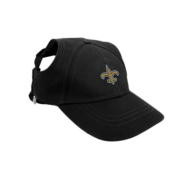 Little Earth Productions Dog-products NFL XS New Orleans Saints Pet Baseball Hat