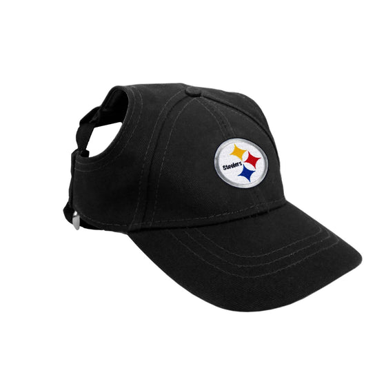 Little Earth Productions Dog-products NFL XS Pittsburgh Steelers Pet Baseball Hat