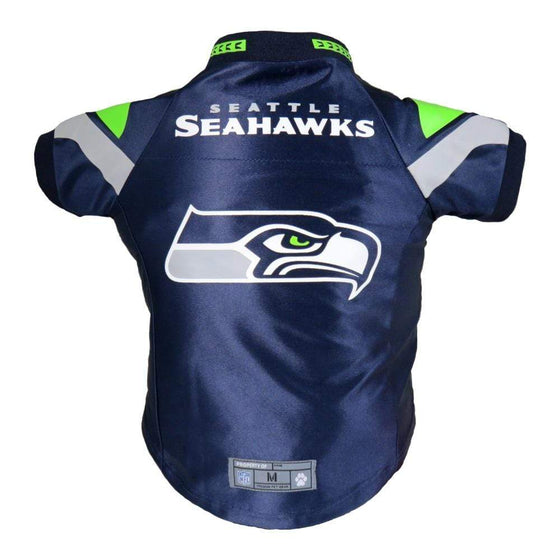 Little Earth Productions Dog-products NFL XS Seattle Seahawks Pet Premium Jersey