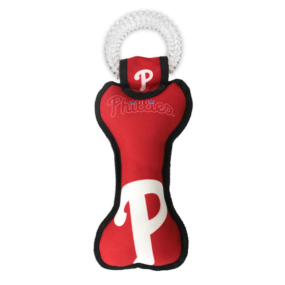 Pets First Company Dog-products MLB Philadelphia Phillies Dental Tug Toy