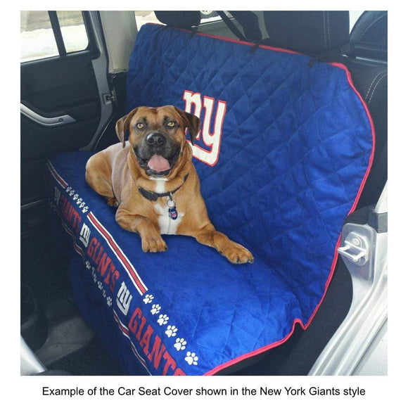 Pets First Dog-products MLB Chicago Cubs Pet Car Seat Cover