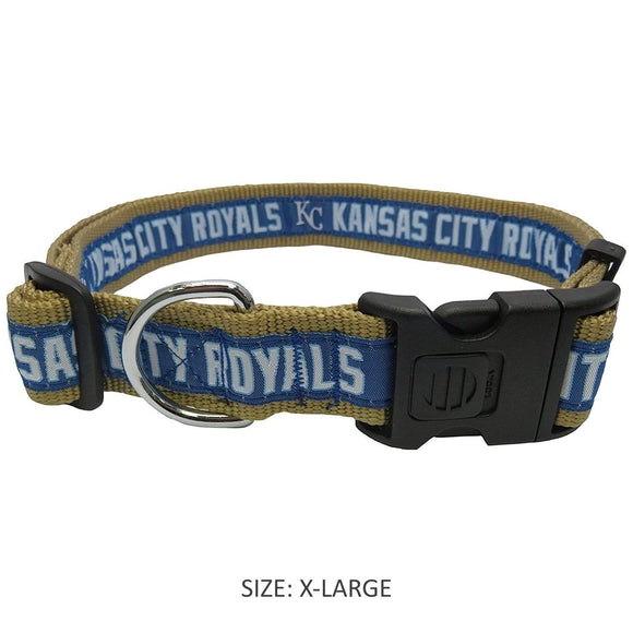 Pets First Dog-products MLB Small Kansas City Royals Pet Collar By Pets First